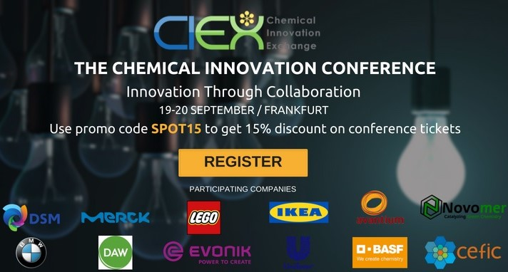 CIEX Innovation 2018, chemical industry supplier